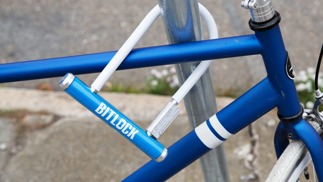 Unlock Your Bike With Your Phone, With This Smartphone-Controlled U-Lock