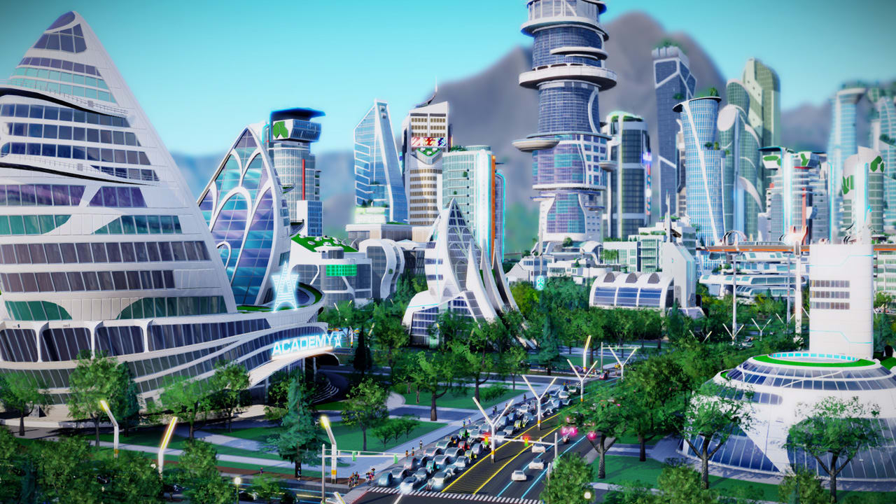 Inside SimCity's Vision Of Tomorrow, Where You Can Build A Clean Tech Heaven Or A Drone-Filled Hell