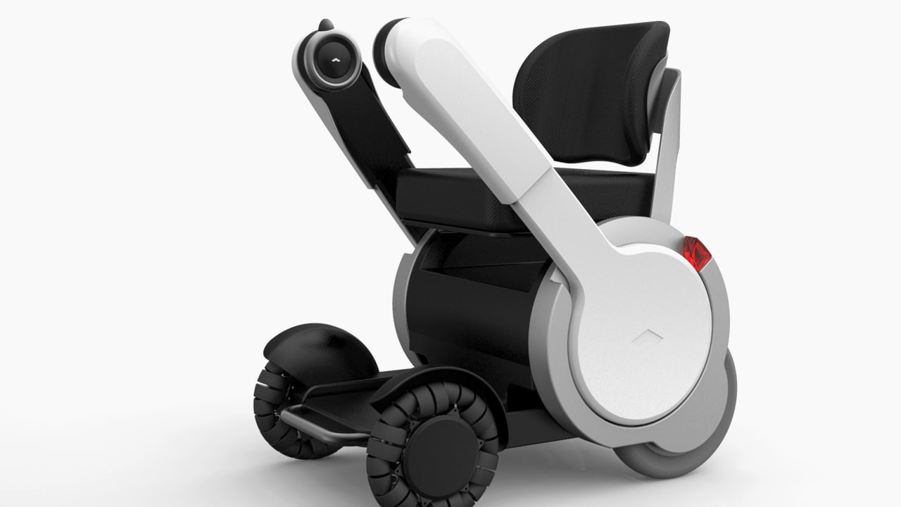 A Space-Age Wheelchair, Without The Bumps And Stigma