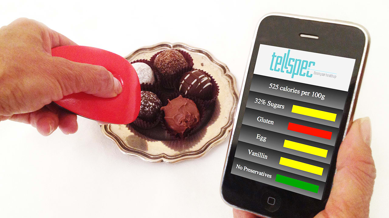 Point This Magical Scanner At Your Food And It Will Count The Calories