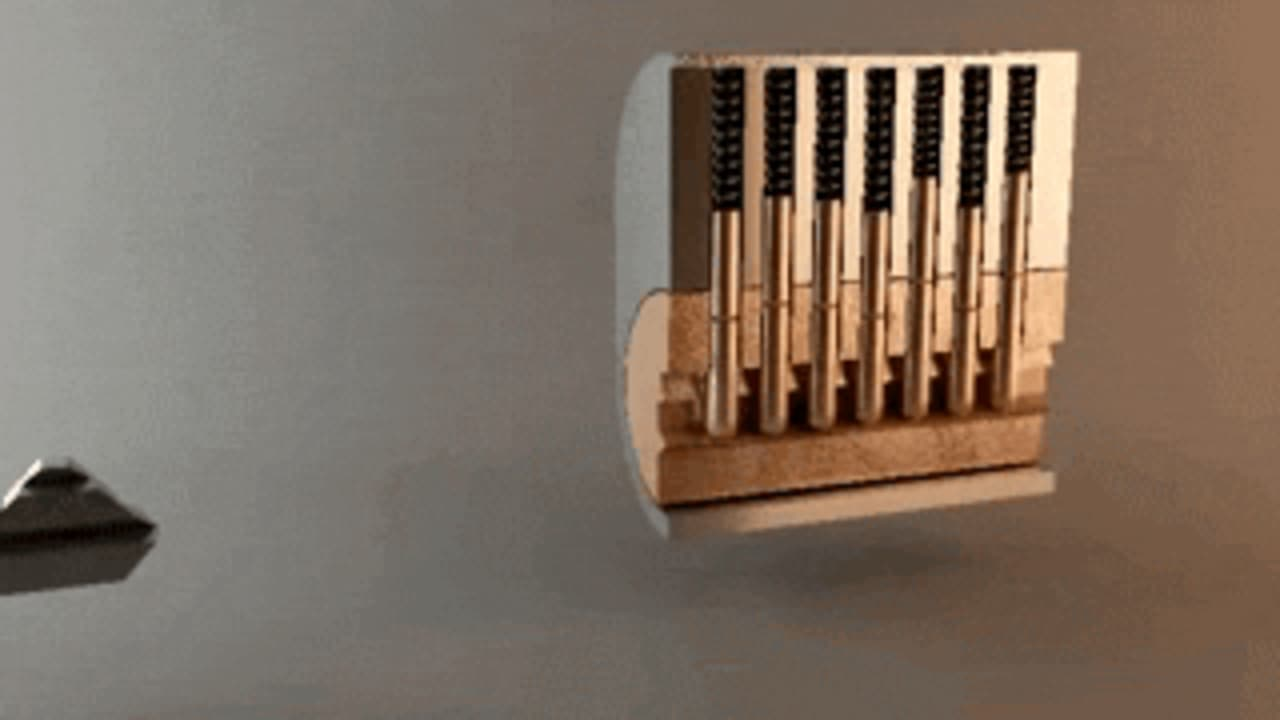 GIF Of The Day: How A Lock Works