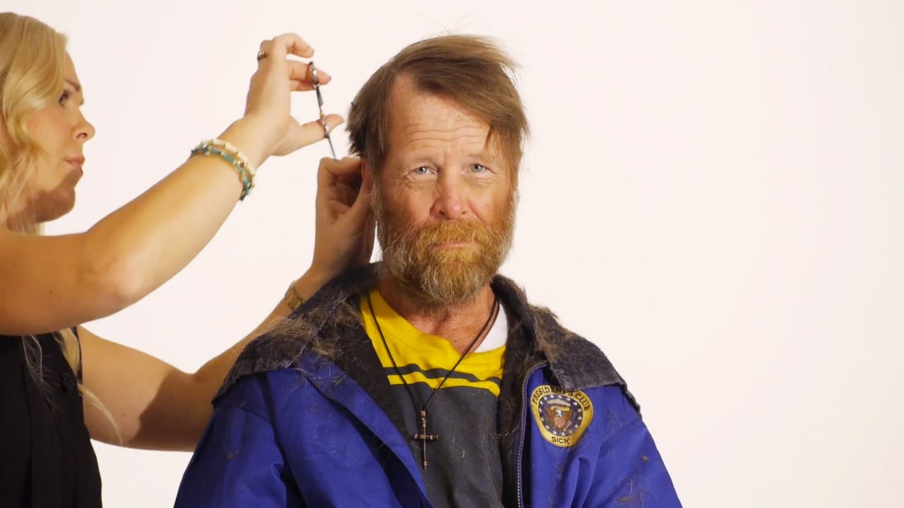 Watch The Complete Timelapse Transformation Of A Homeless Veteran
