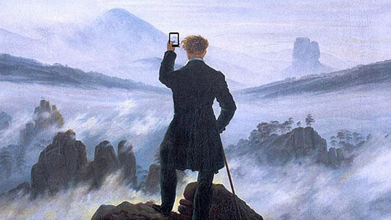 How Historical Paintings Would Look If Their Subjects Had Mobile Devices