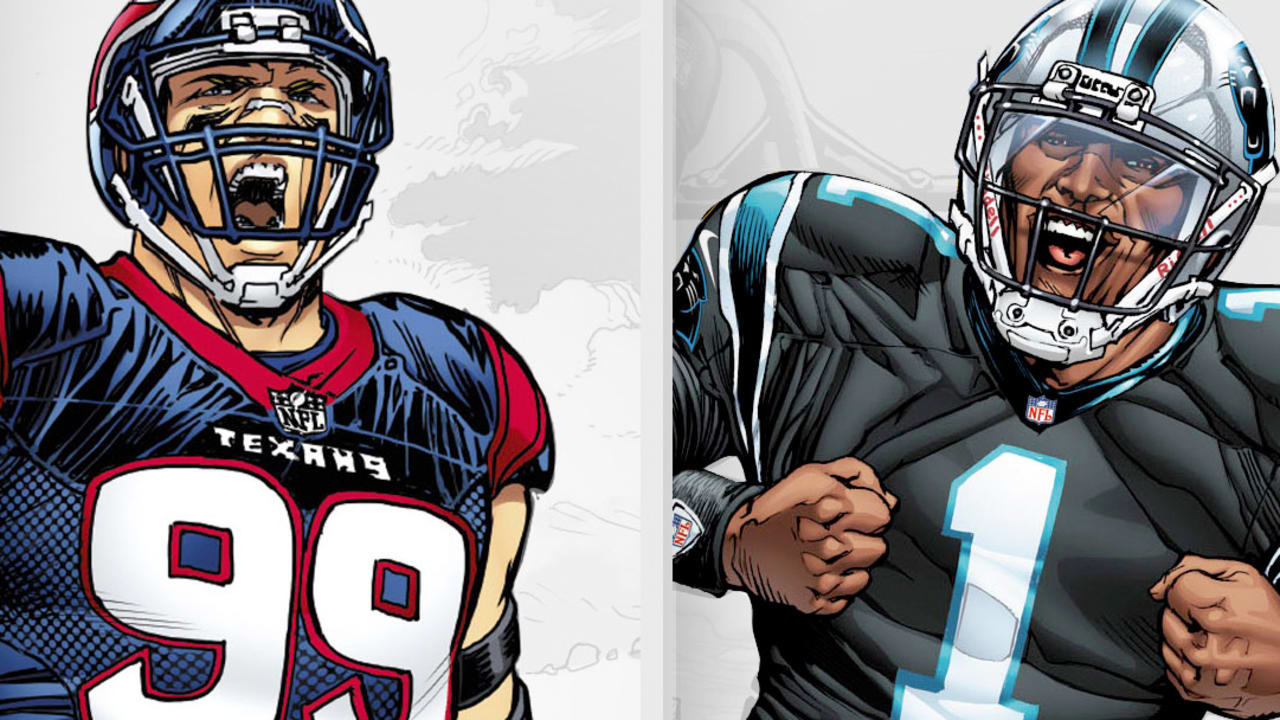 "00237ab96 NFL Stars Cam Newton And J.J. Watt Star In Gatorade ""Freaks"" Digital C"