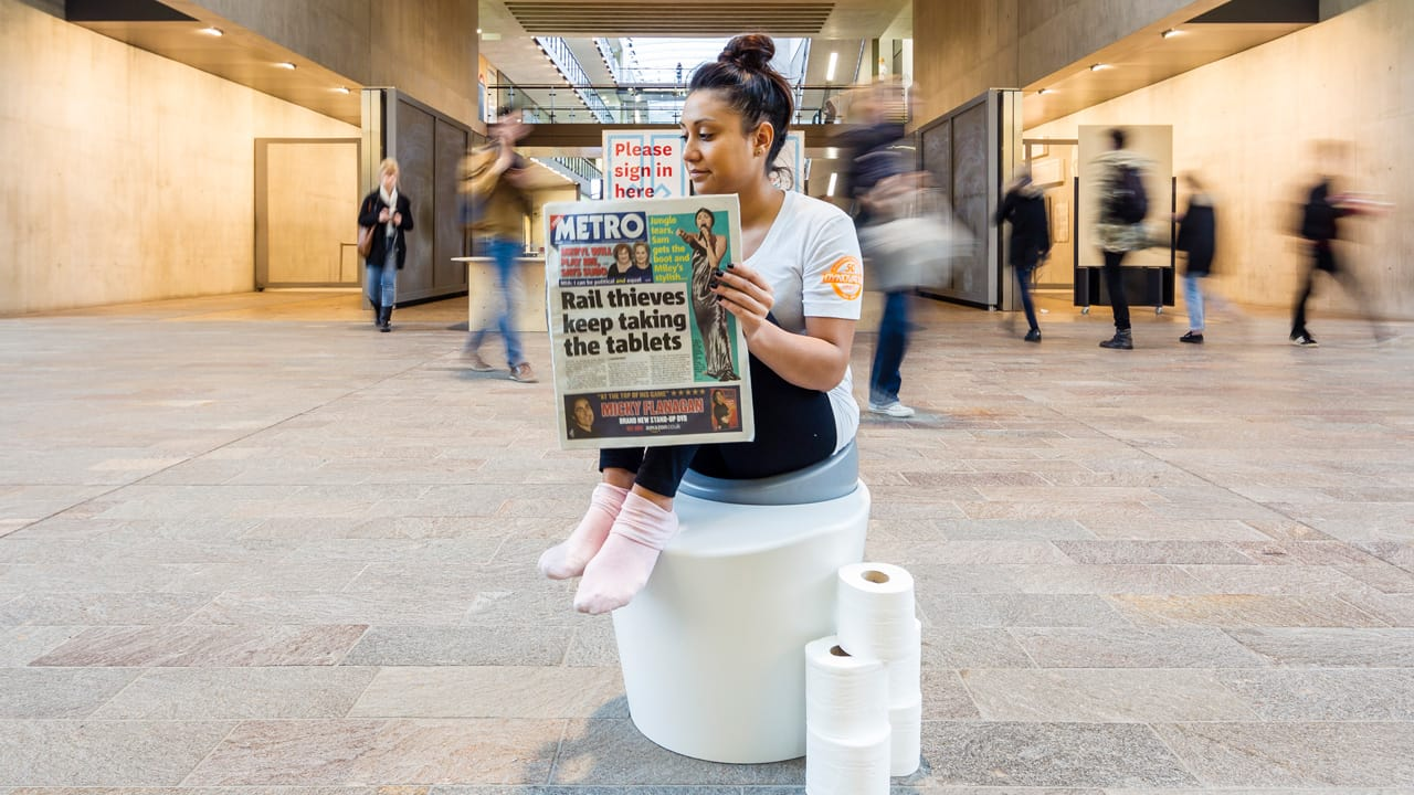 Take A Seat On The Ergonomically Correct Toilet Of The Future