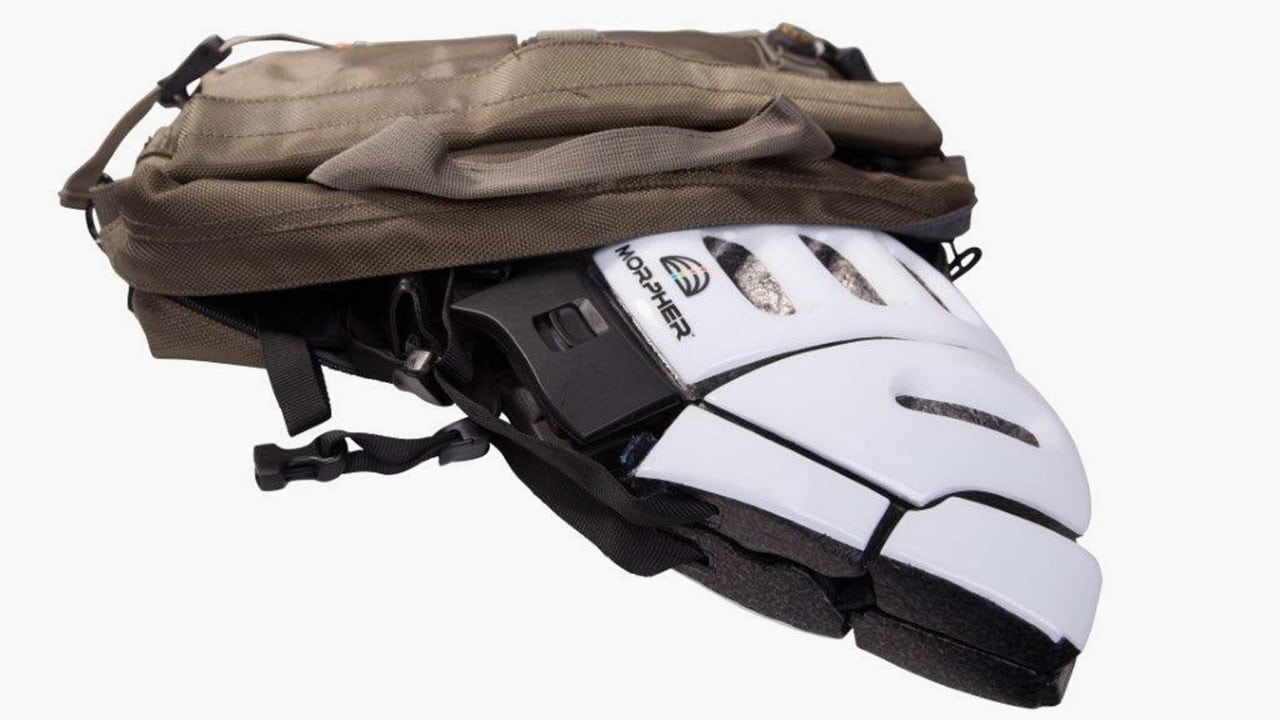 A Bike Helmet That Folds Flat To Fit In Your Bag