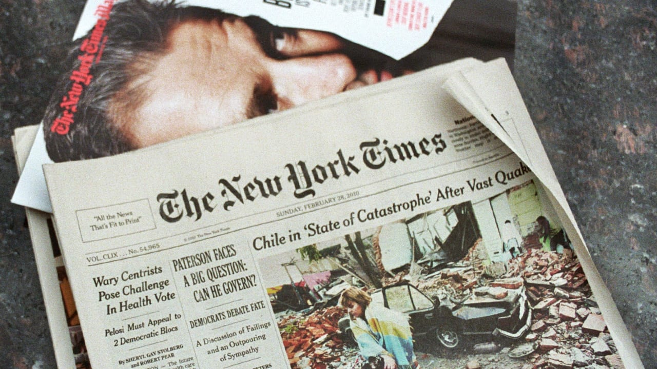 This Scientist Uses The New York Times Archive To Eerily, Accurately Predict The Future
