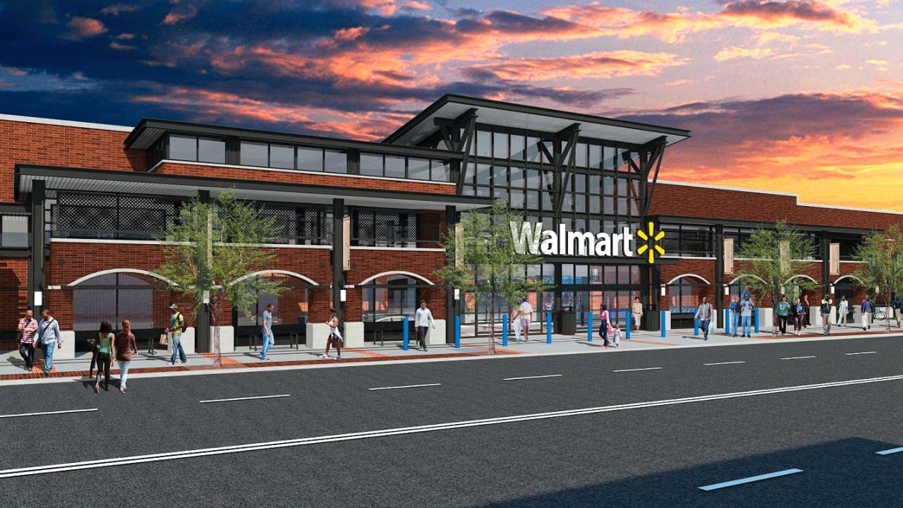 5 Surprises At The New Big City Walmart In Washington D C