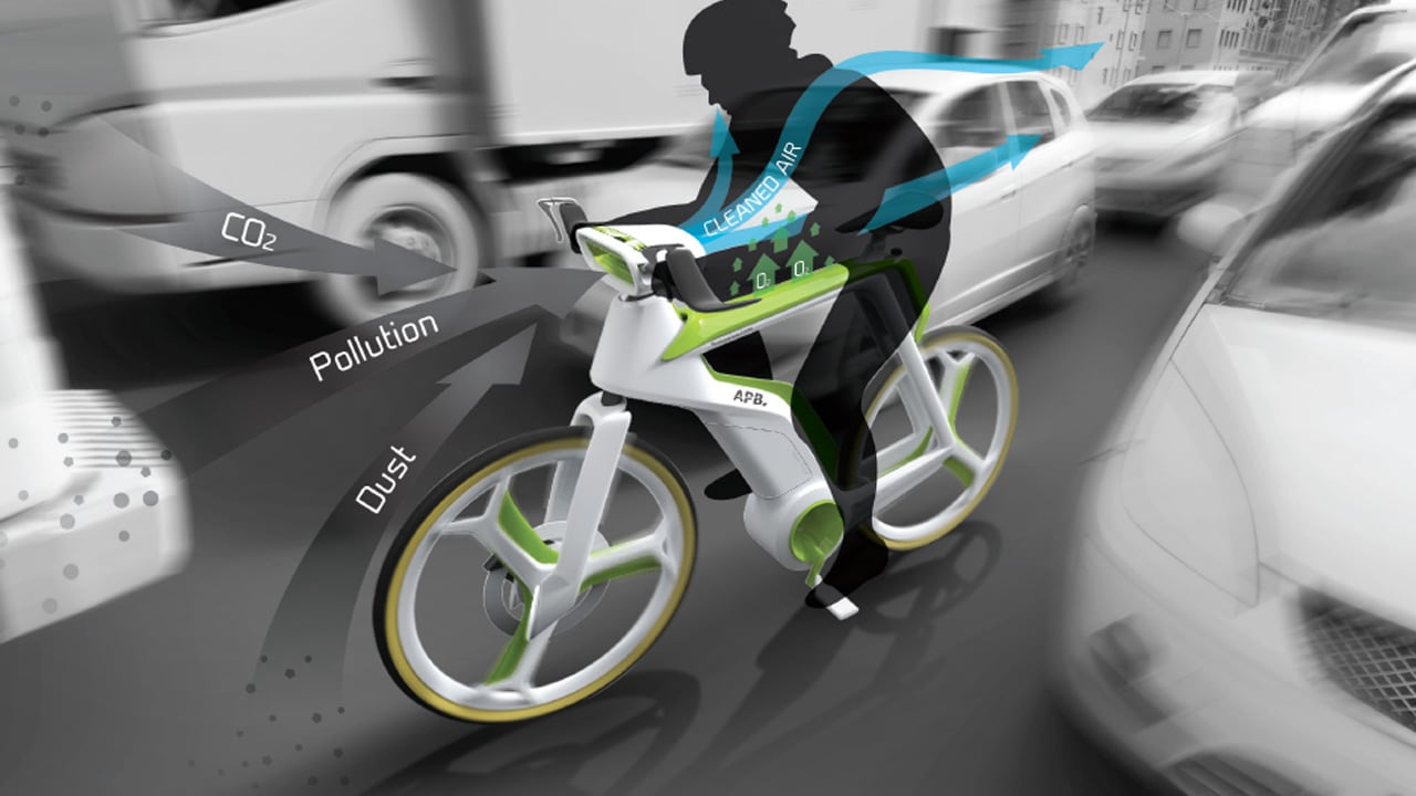 Purify The Air As You Ride, With This Photosynthesis Bike