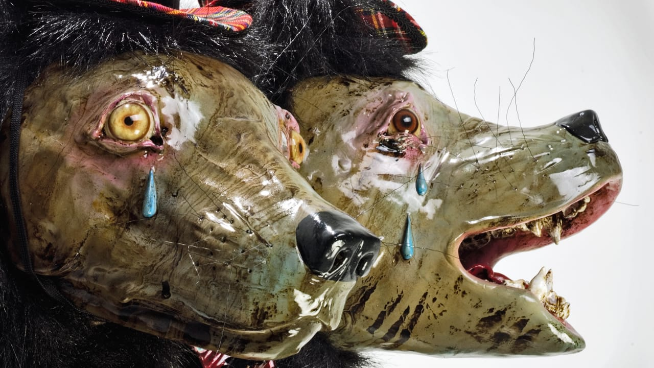 Explore The Man/Beast Bond With Elizabeth McGrath's Freakish, Fantastic Animal Art