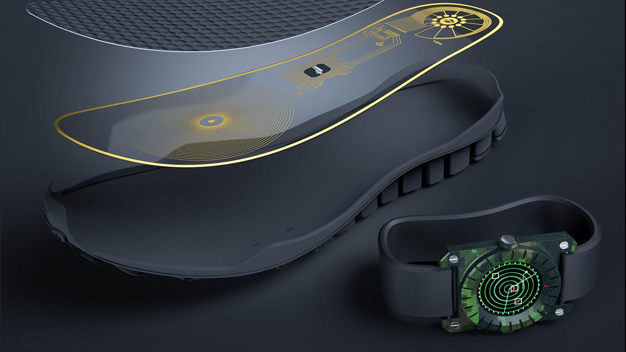 A Wearable Landmine Detector That Slips Inside A Shoe