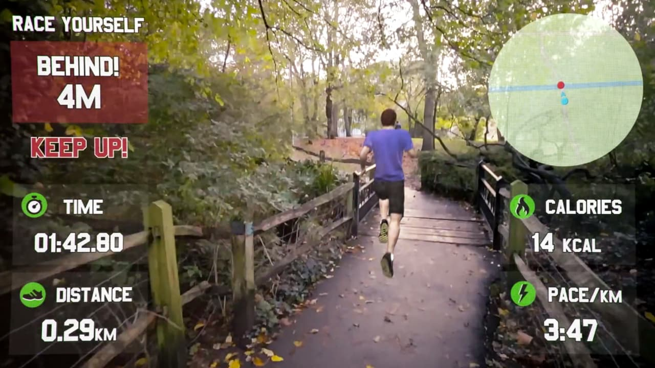 This Horrifying Fitness Game For Google Glass Makes You Run For Your Life