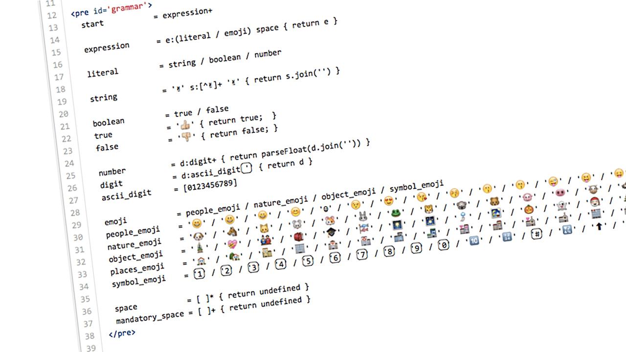 Under The Hood Of The All-Emoji Programming Language