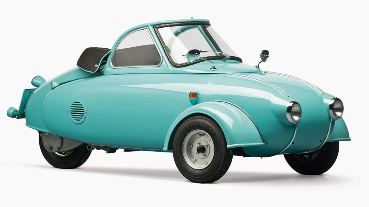 This Adorably Tiny Car From 1957 Was Ahead Of Its Time
