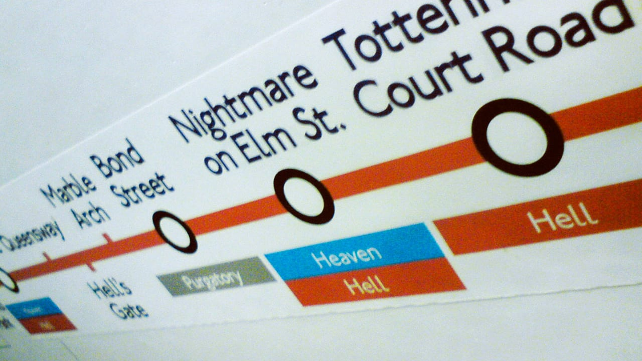 Fake London Underground Signs Say What Commuters Are Really Thinking