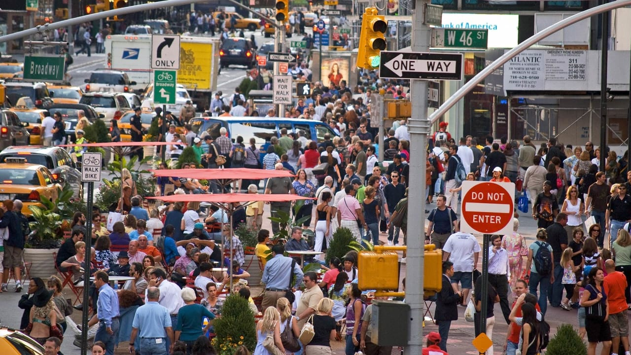 One Company Is Trying To Count And Track All Of New York City's Pedestrians