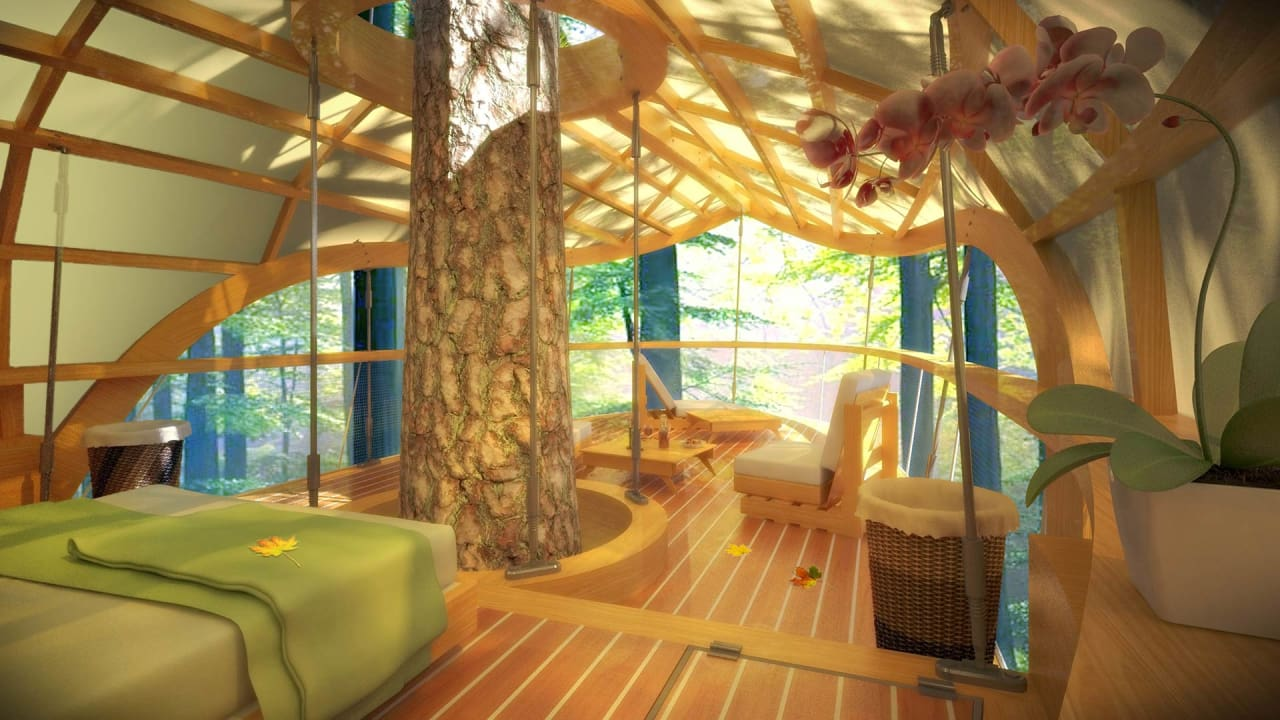 These Amazing Hanging Hotel Rooms Let Guests Camp In Trees