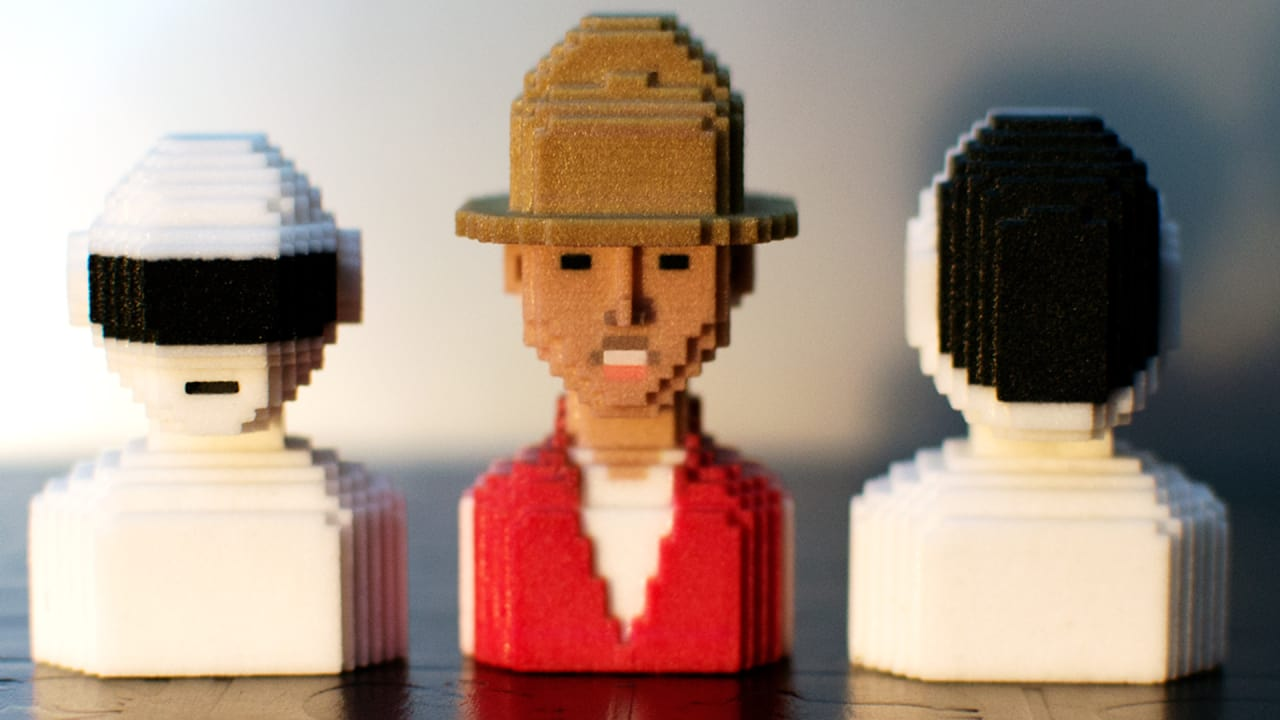 A New App Lets You Create A Pixelated 3-D Figure Of Absolutely Anythin