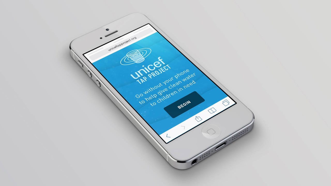 Do Without Your Phone For Just A Minute And Improve Someone's Water