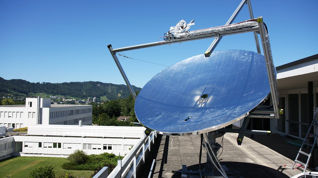 These Massive Mirrored Dishes Could Make Solar Cheaper For All