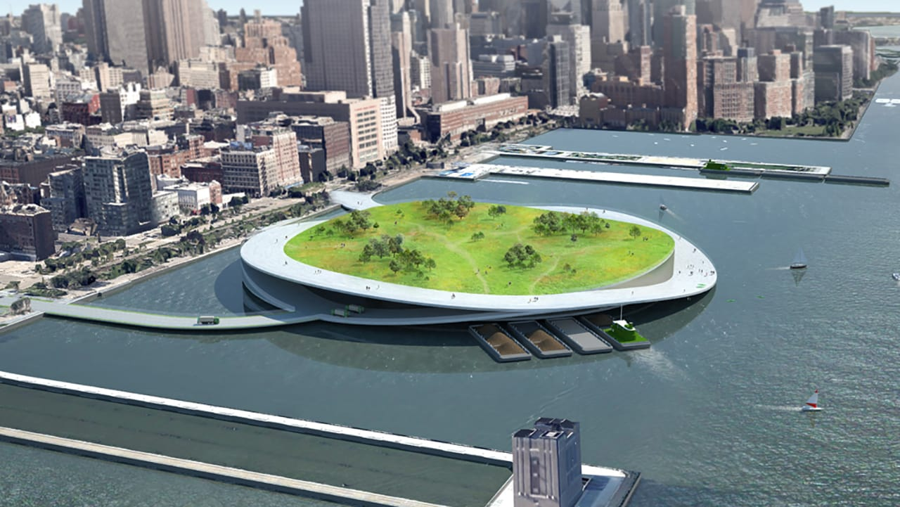 Redesigning A Less Wasteful New York City, With Giant Trash-Composting Parks