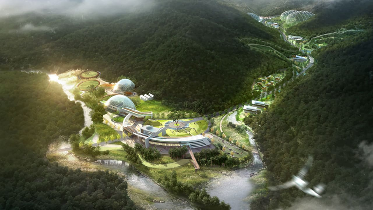 These Huge Glass Biodomes Will Bring Back Endangered Wildlife