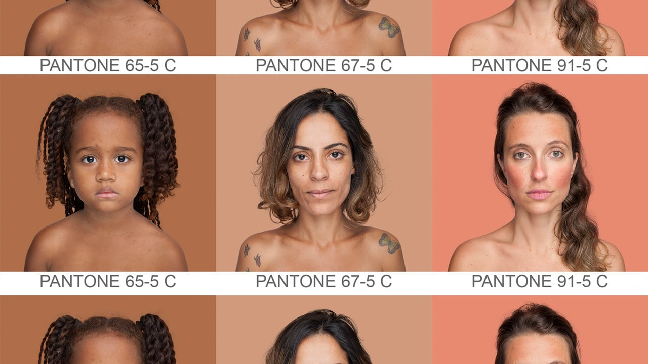 Artist wants to map every single human skin tone on earth nvjuhfo Image collections