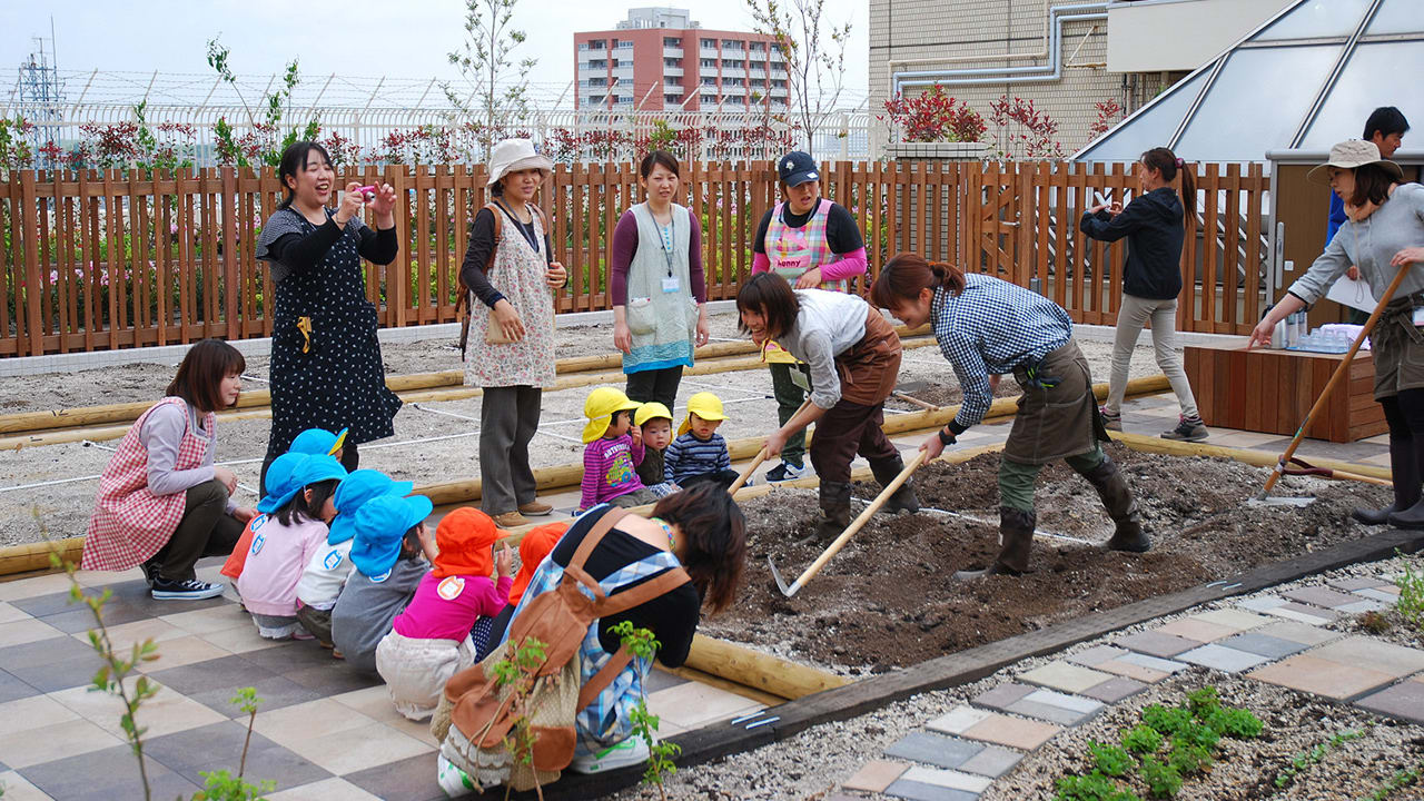 No Time To Garden At Home? At This Train Station, You Can Garden On Your Commute