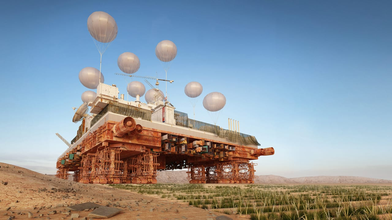 This Enormous Rolling City Is Designed To Re-Plant The Desert