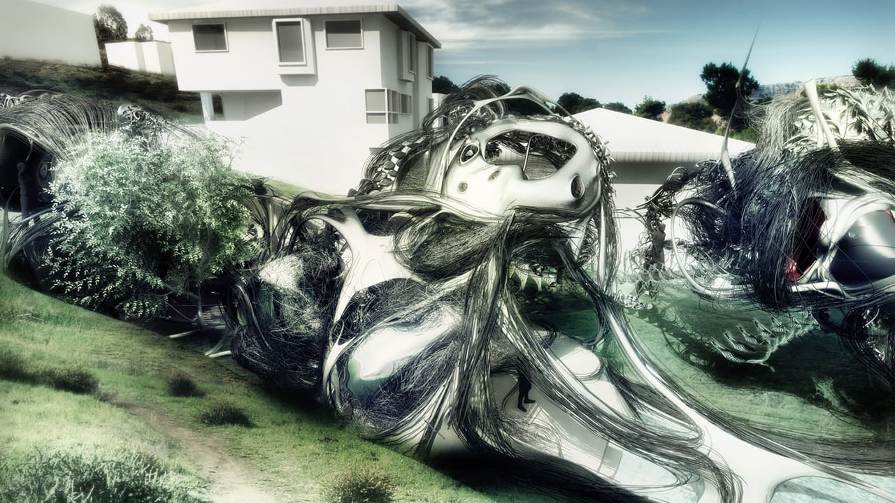 This Crazy Liquid Blob Is Actually The House Of The Future
