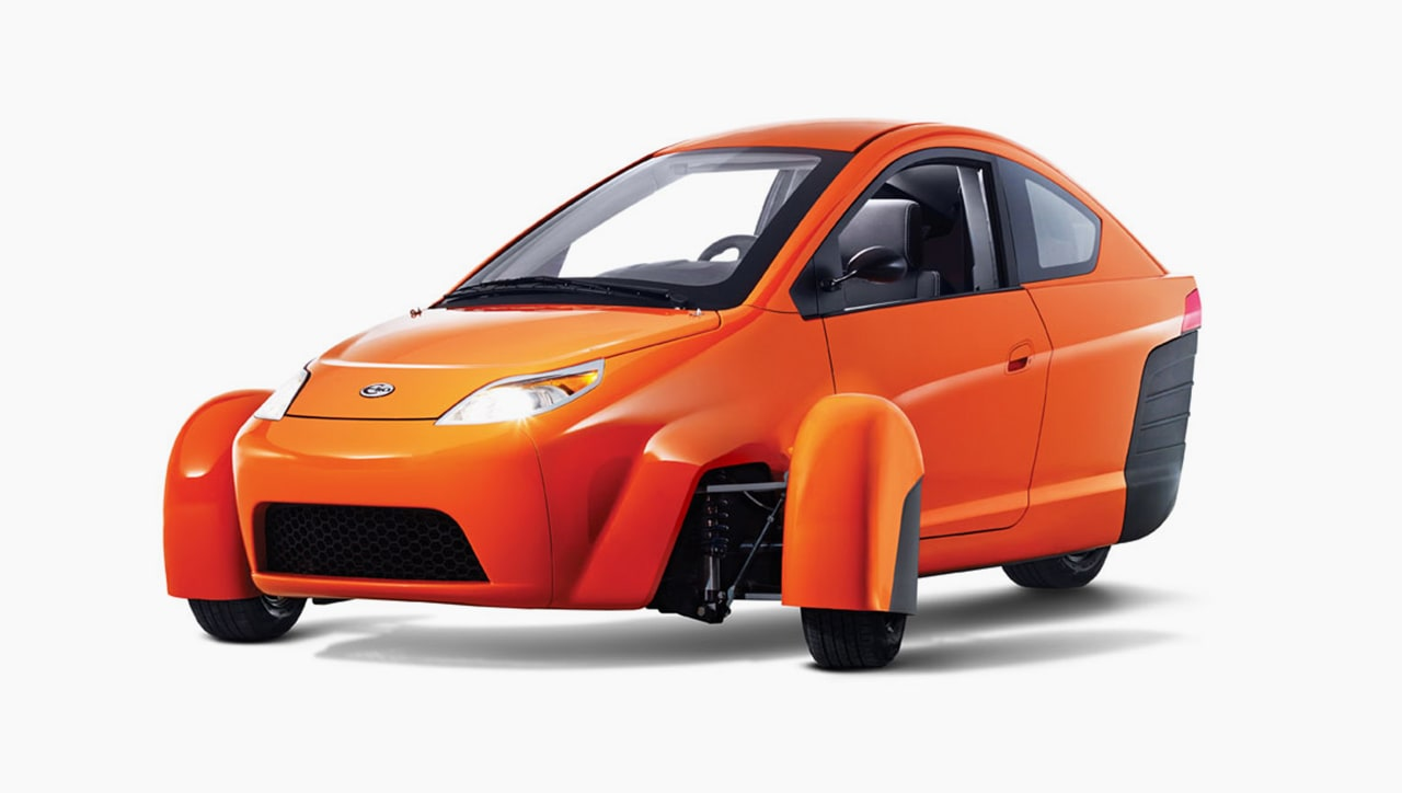 This Three-Wheeled Car Costs Just $6,800 And Goes 672 Miles On A Tank Of Gas
