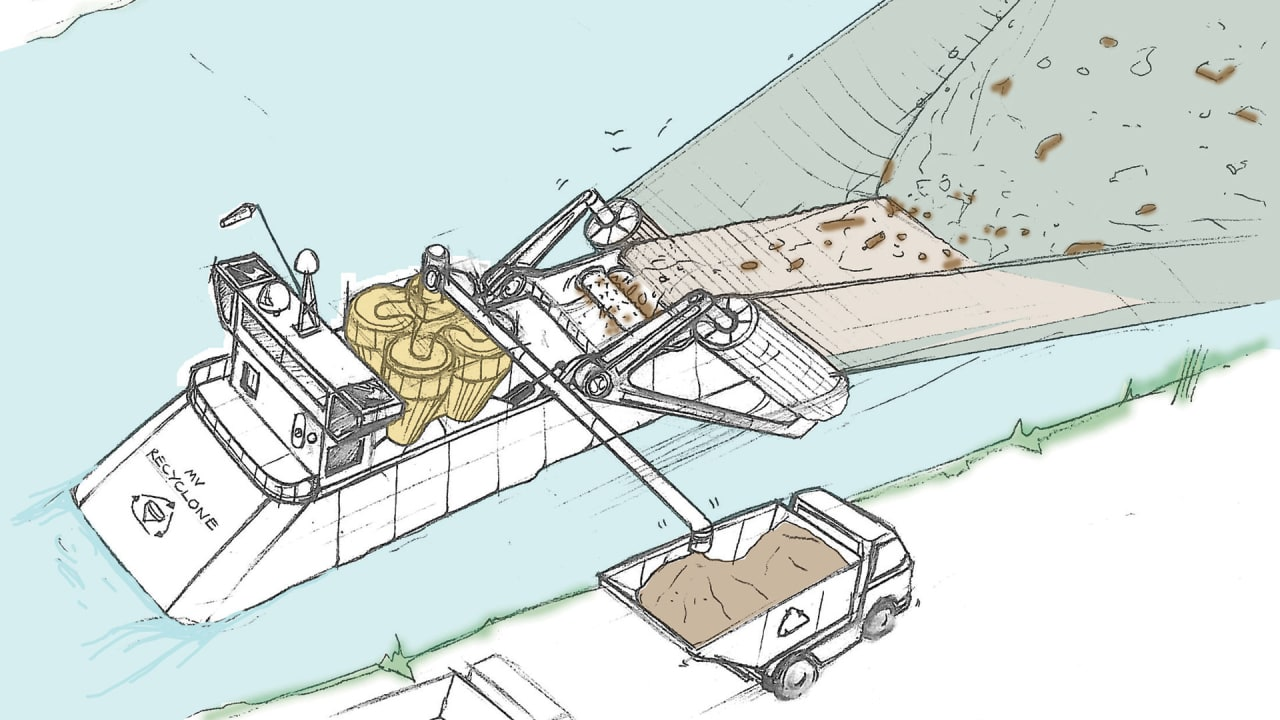 James Dyson Is Designing A Giant Vacuum-On-A-Boat To Clean Ocean Trash