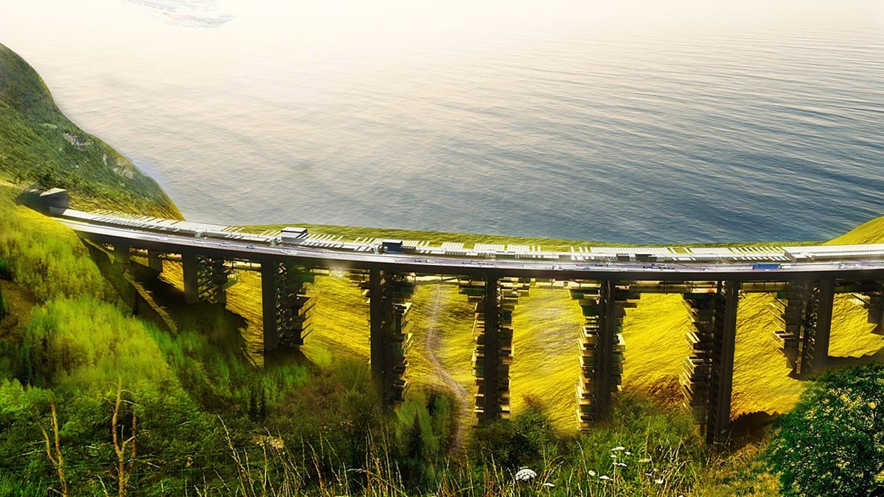 These Old Bridges Will Become Inverted High-Rise Communities, Complete With Gorgeous View