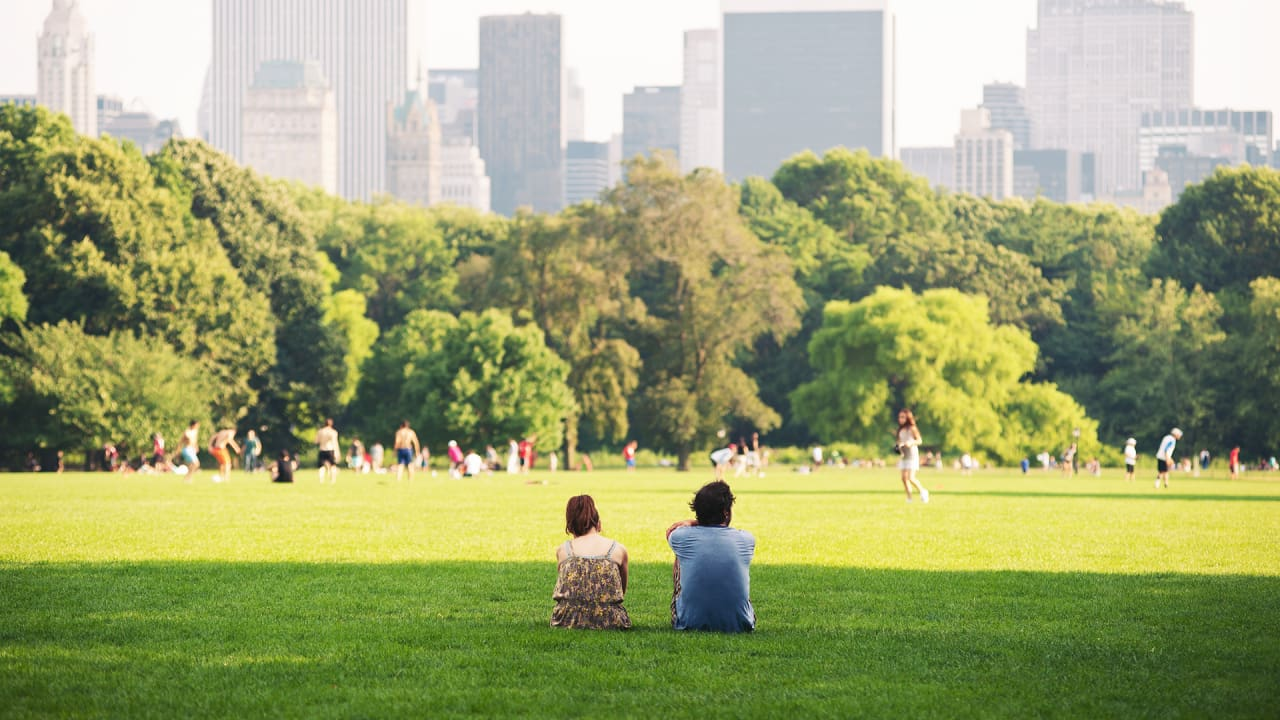 If You Live Near A Park, You're More Likely To Be Happy