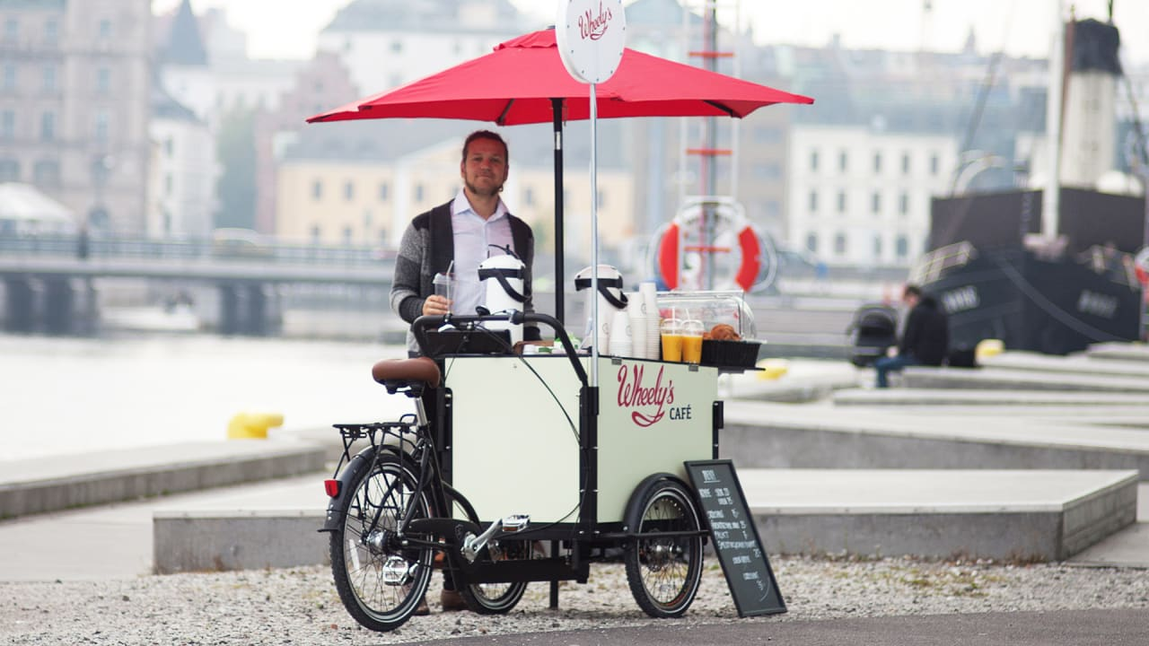 The Bike Powered Coffee Cart That Could Take On Starbucks