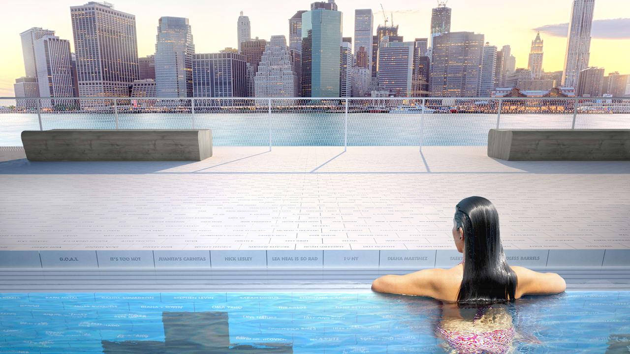 With Google's Help, NYC's Floating River Pool Will Tell Us How Much Poop Is In The Water