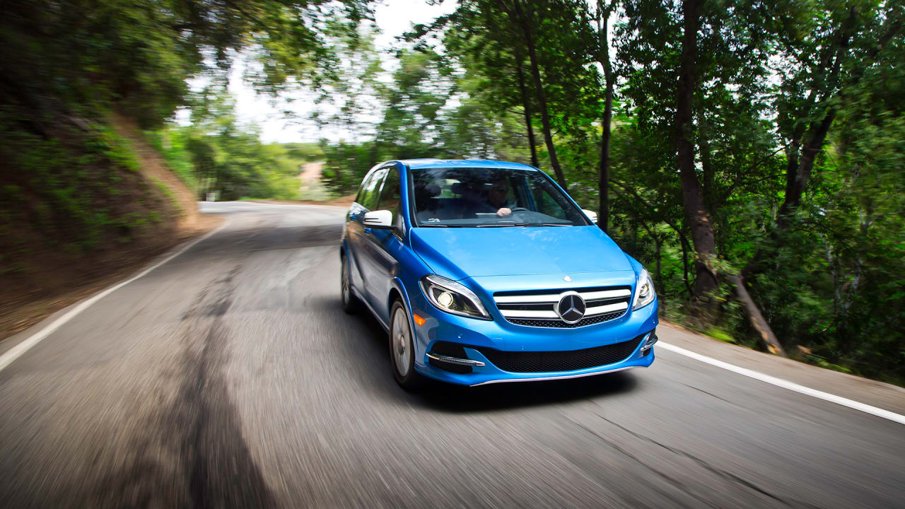 Meet The First Electric Mercedes To Come To The U.S.–Powered By Tesla