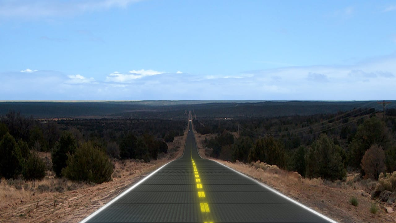 These Solar Roads Could Power The Entire Country