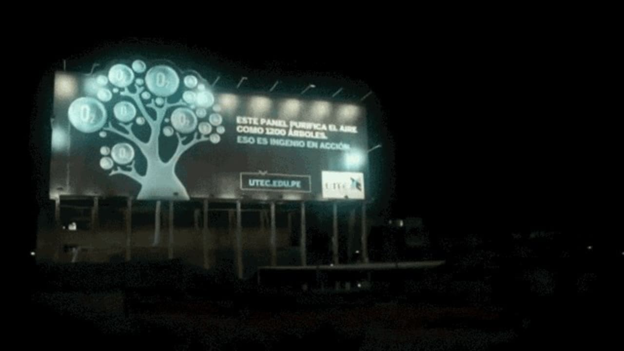 This Air-Purifying Billboard Lays Waste to Construction Site Pollution