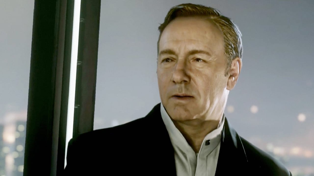 "Kevin Spacey Channels Francis Underwood Once More In Trailer For ""Call Of Duty: Advanced Warfare"""