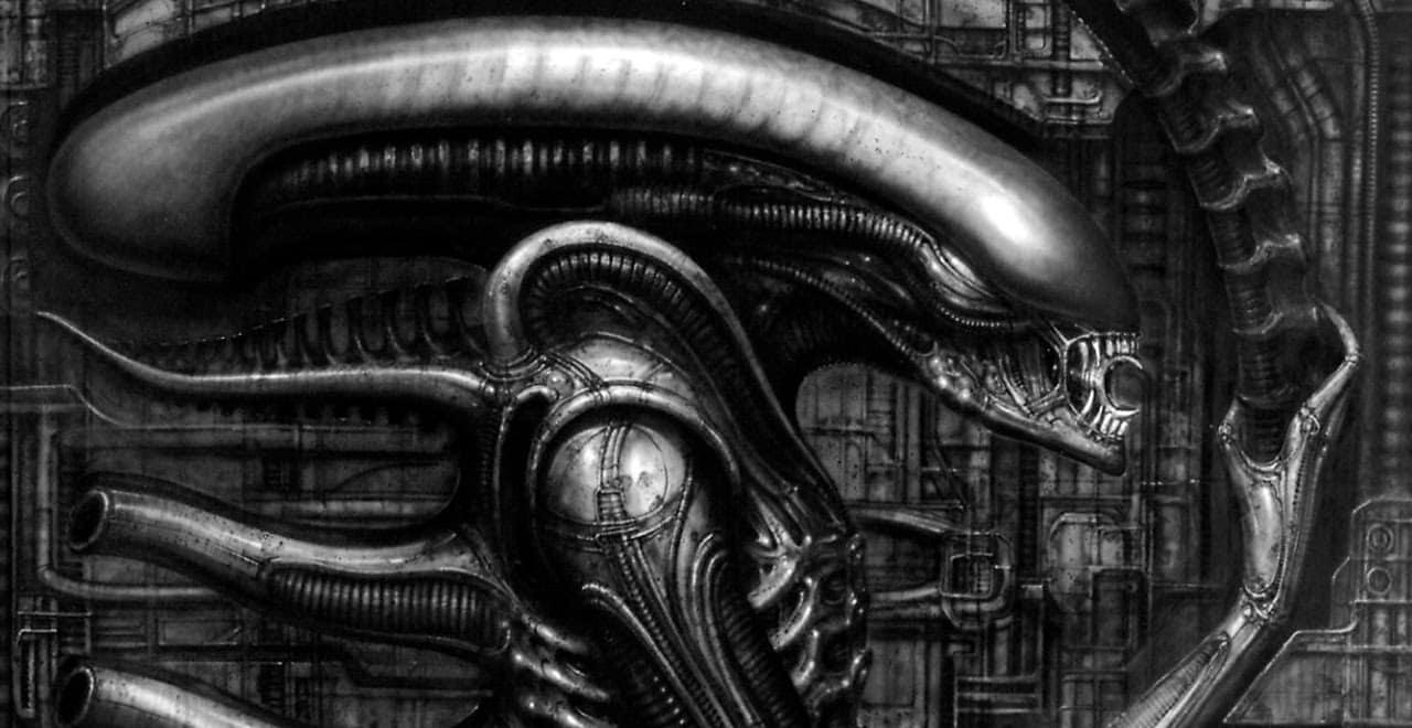 """R.I.P """"Alien"""" Designer And Surrealist Artist H.R. Giger H.r. Giger Art"""