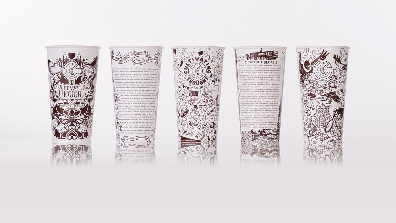 Chipotle Wants You To Enjoy Jonathan Safran Foer, Toni Morrison, Michael Lewis And More With Your Burrito