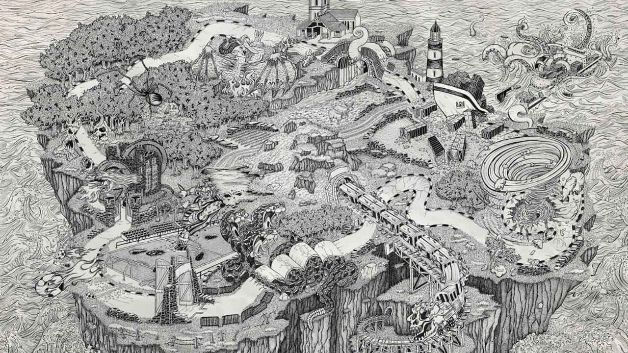 Honda Creates A Mythical Map For An Iconic Motorcycle Race