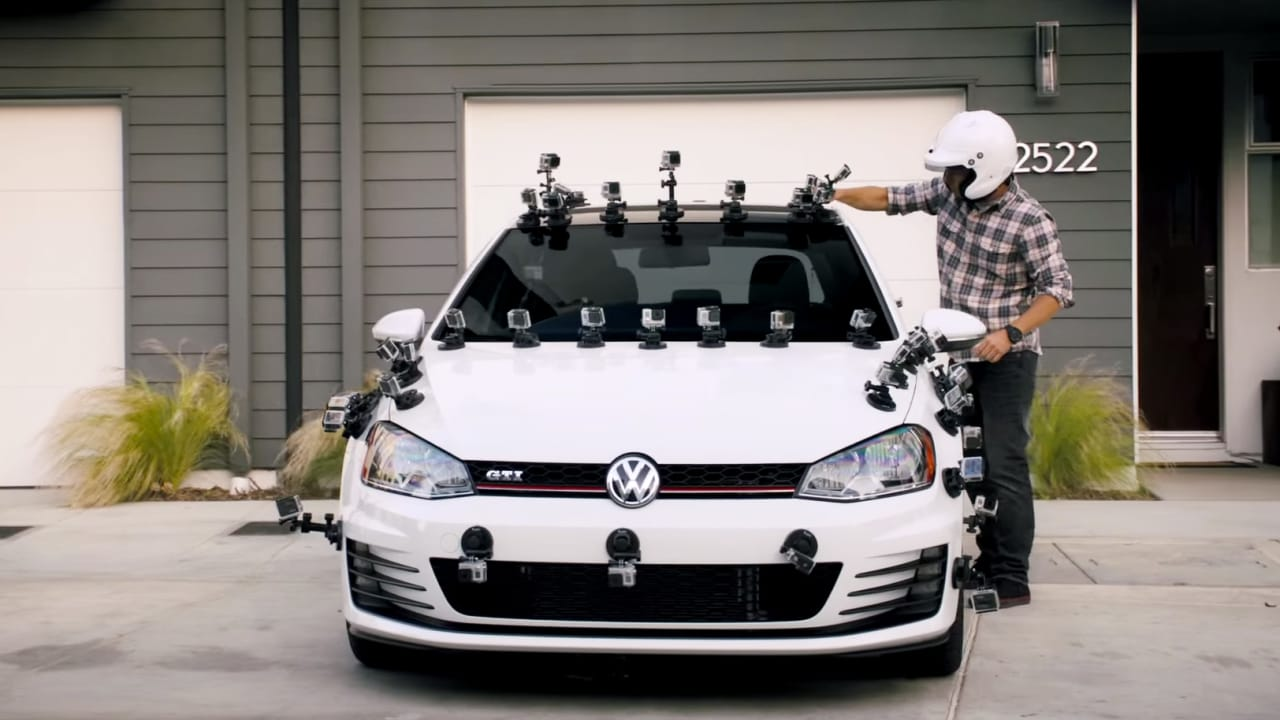 VW Strapped Dozens Of GoPros To a New GTI For A Stunt-Tastic Choose-Your-Own-Adventure