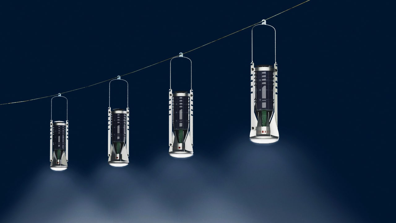 Former Soda Bottles Become Low-Cost Solar Lights