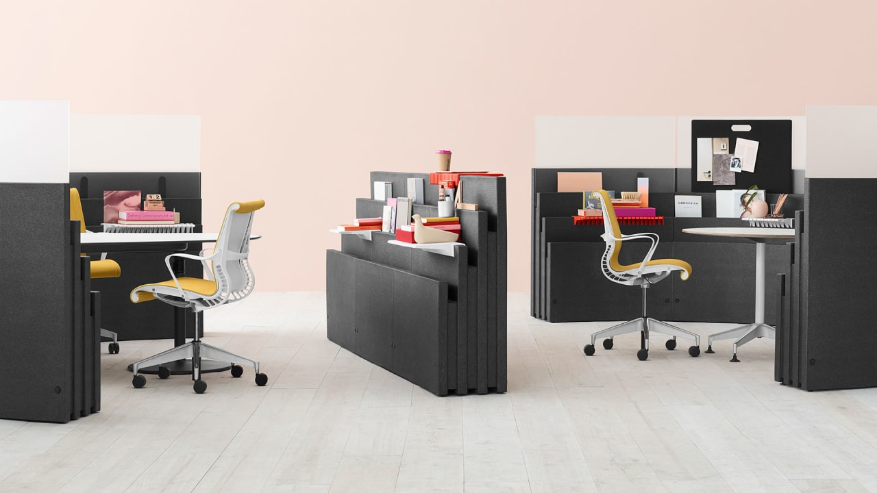 The Hackable Office Furniture Of The Future Lets You Create Any Office You Want