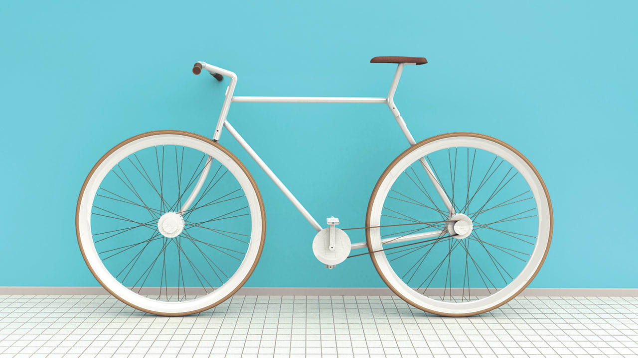 The Bike Fits In A Backpack, So It's Super Easy To Bring On Trips (Some Assembly Required)
