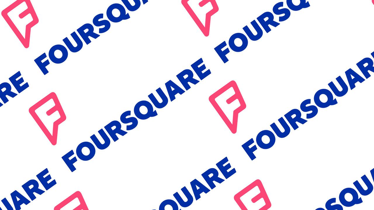 foursquare�s new logo is a superhero symbol