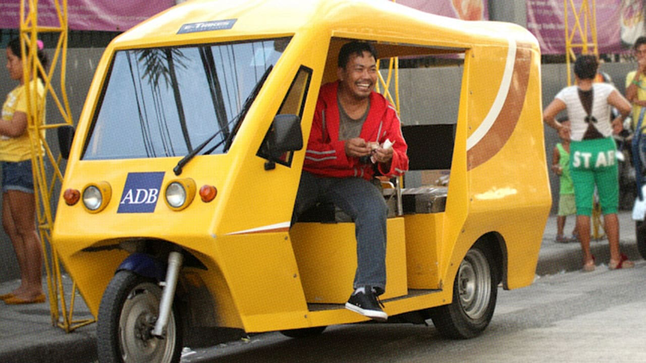 Manila Is Building Out A 100,000-Strong Network Of Electric Trikes