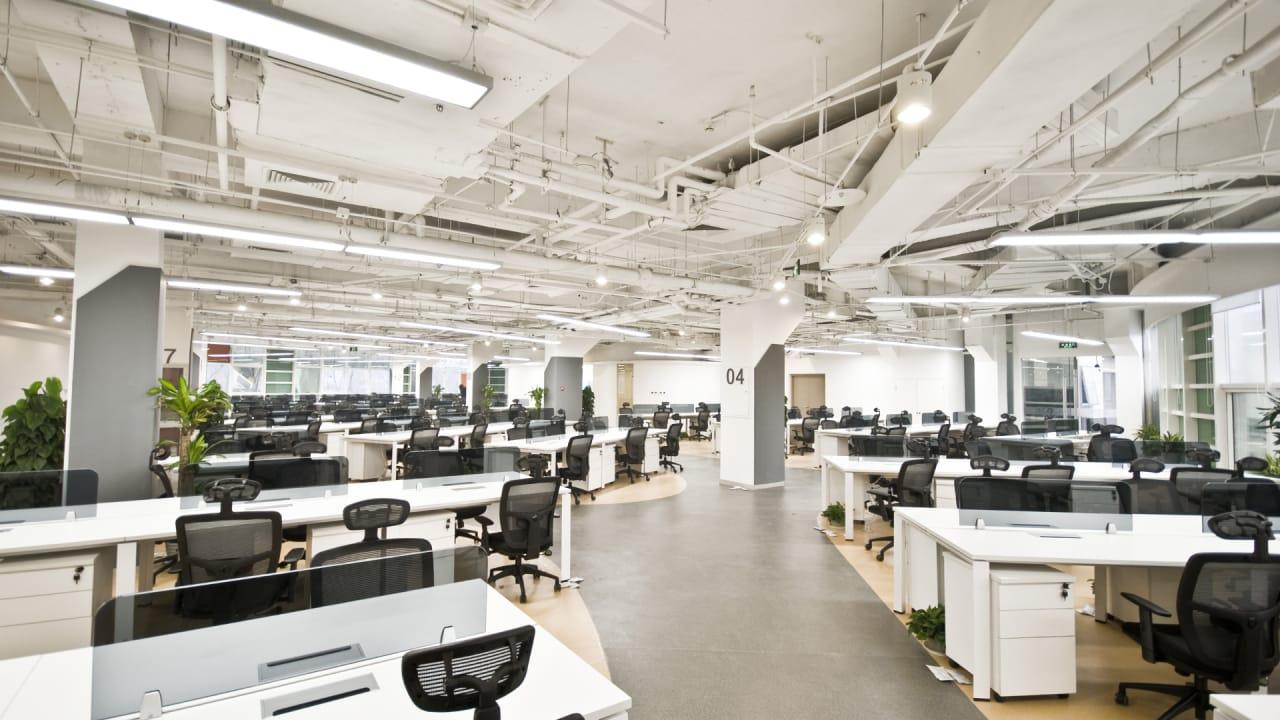 konnikova open office. Good Open Office Ceiling Design With Konnikova G